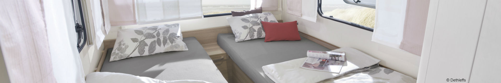 A comfortable night's sleep on your holiday