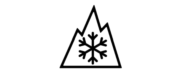 Since 1 January 2018, only tyres with this Alpine symbol are permitted in winter conditions