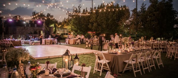Stay the night at the wedding location itself!