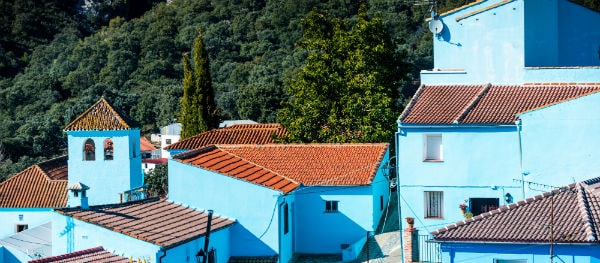 'The Smurfs' village Júzcar