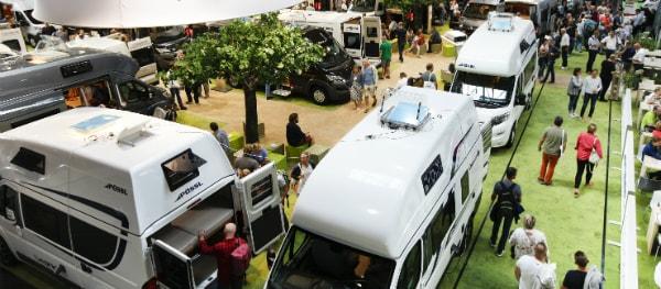 The Caravan Salon in Düsseldorf (Copyright foto: Messe Düsseldorf/ctillmann)