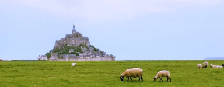 A jewel in the north of France: Le Mont-Saint-Michel