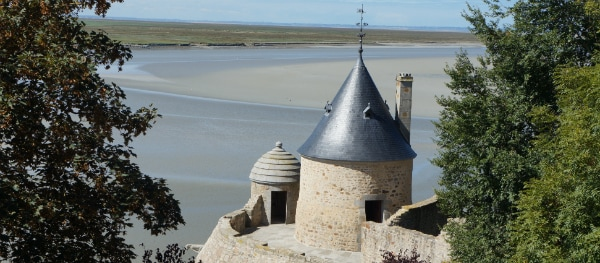 View from the abbey - Le Mont-Saint-Michel