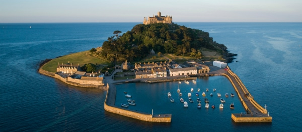 Saint Michaels Mount in Cornwall