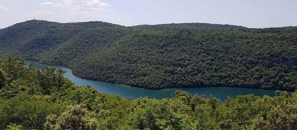 Limfjord in Istrië