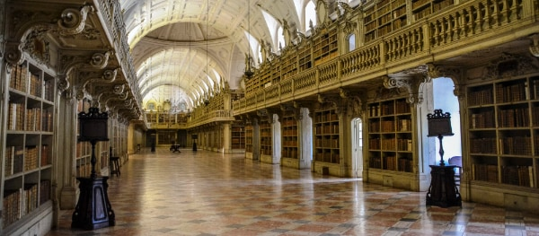The library of Mafra Palace