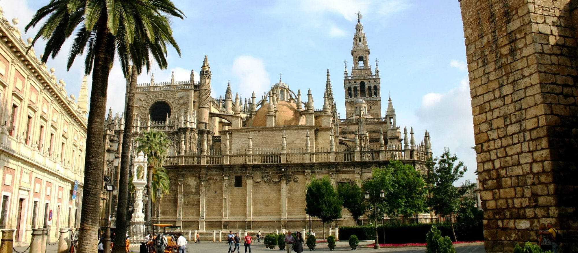 Cathedral and La Giralda in Sevilla