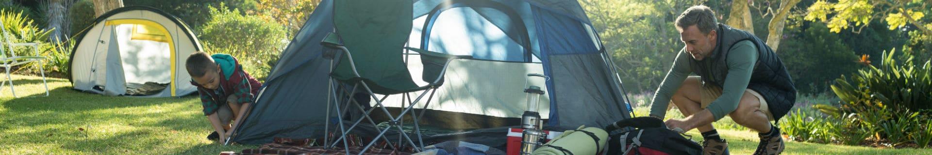 Seven amazing camping hacks