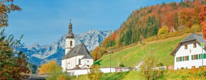 Enchanting mountain landscapes in Berchtesgadener Land