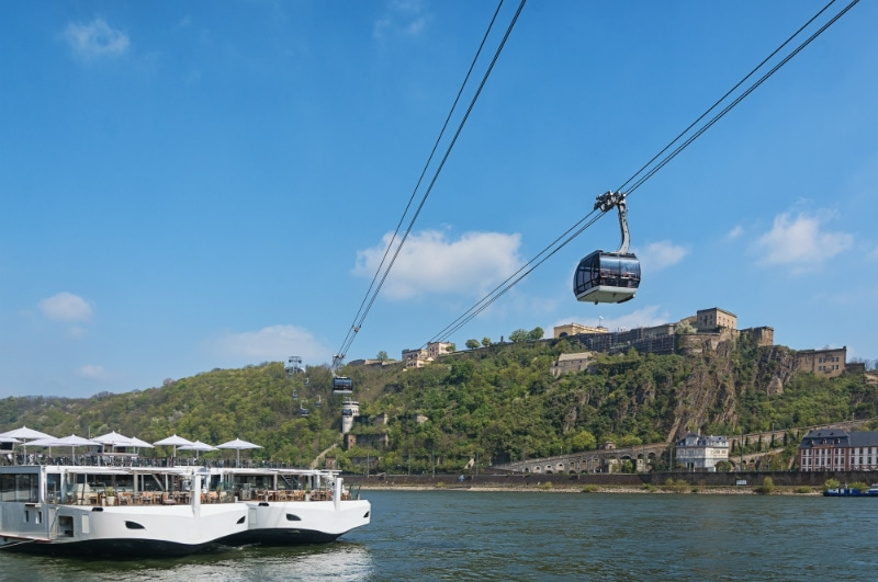 Cable car Koblenz