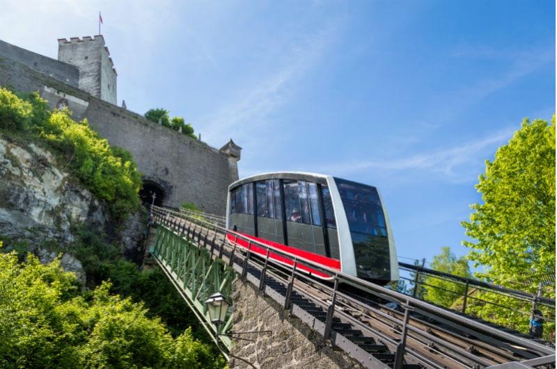 Kabelbaan Salzburg