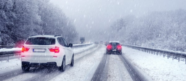In winter conditions it is mandatory to use winter tyres in Germany
