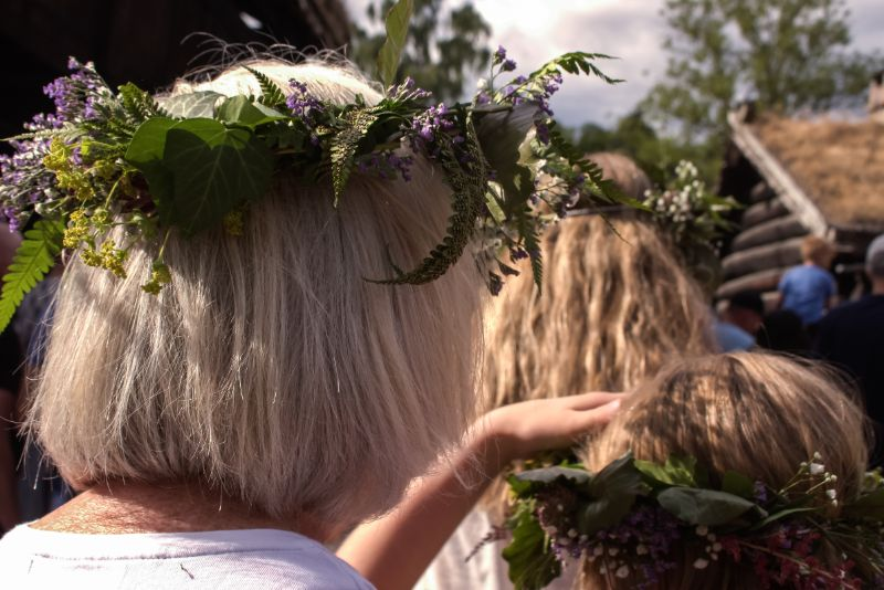 The Midsummer Festival in Norway