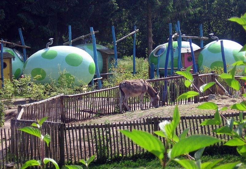 Dragon egg campsite het Schinkel