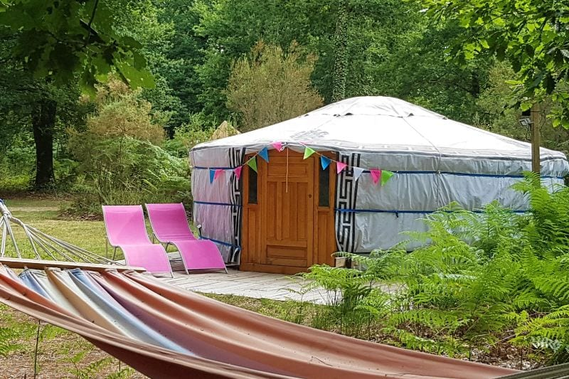 Yurt Campsite Du Bois de St. Hilaire